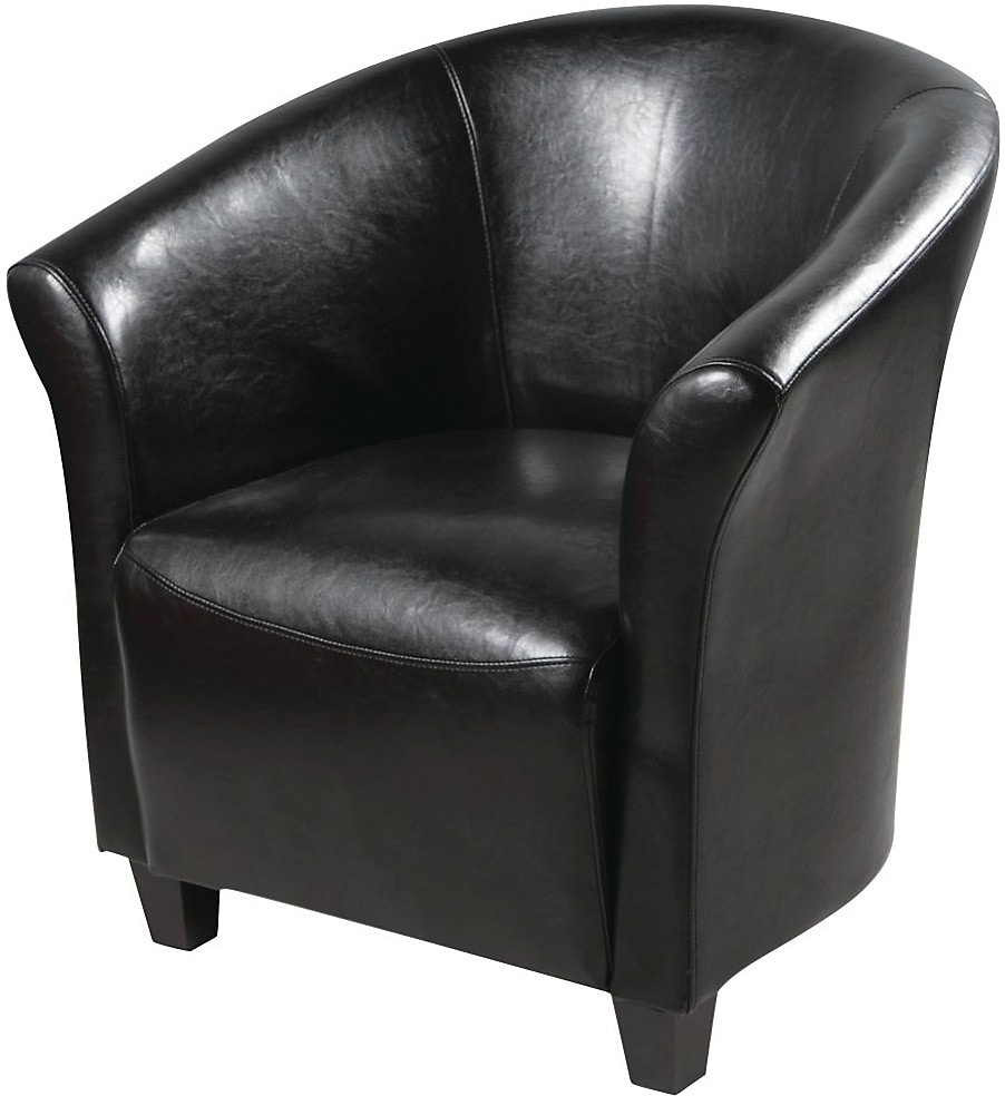 black accent chair  the brick - hovertouch to zoom