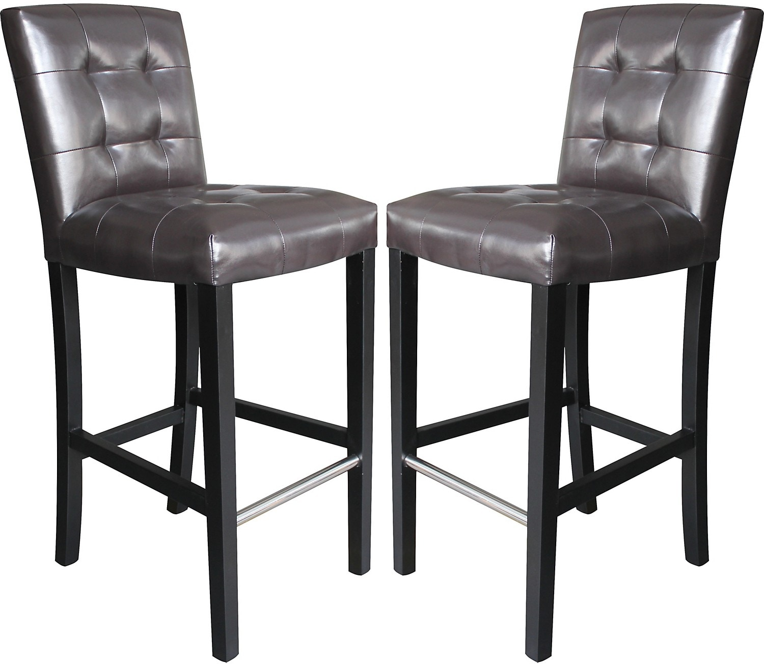 Cosmo Bar Stool Set of 2 - Brown
