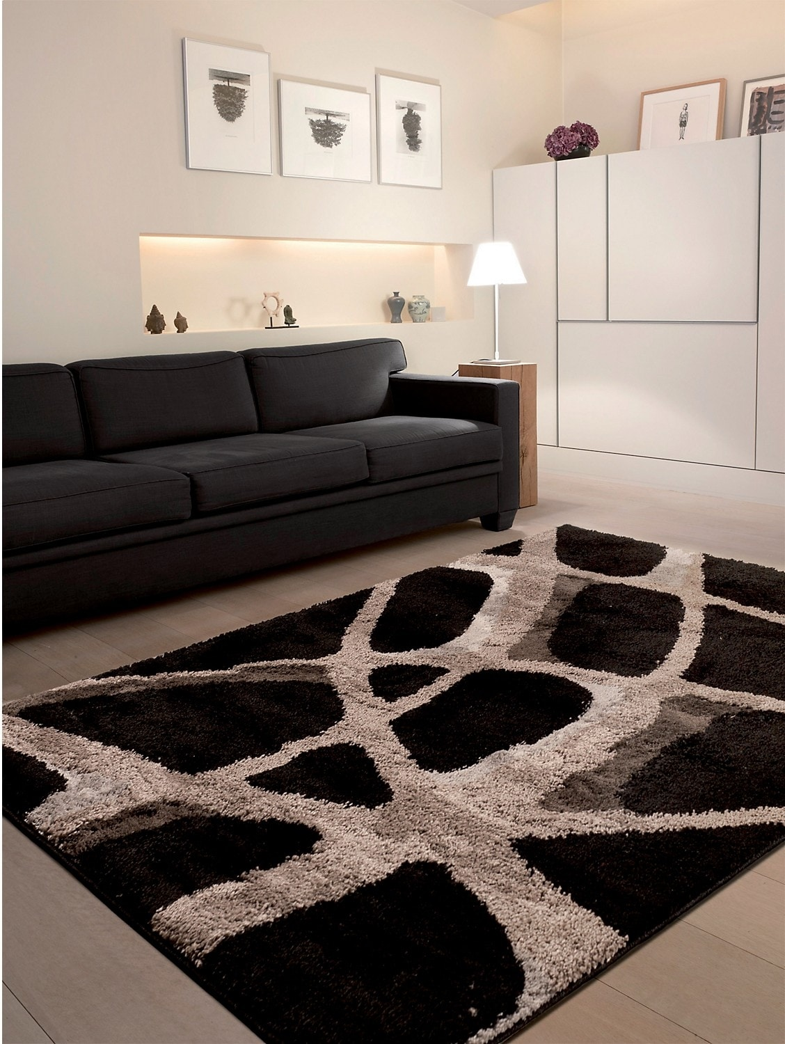 Rugs - Spider Web Area Rug – 7' x 10'