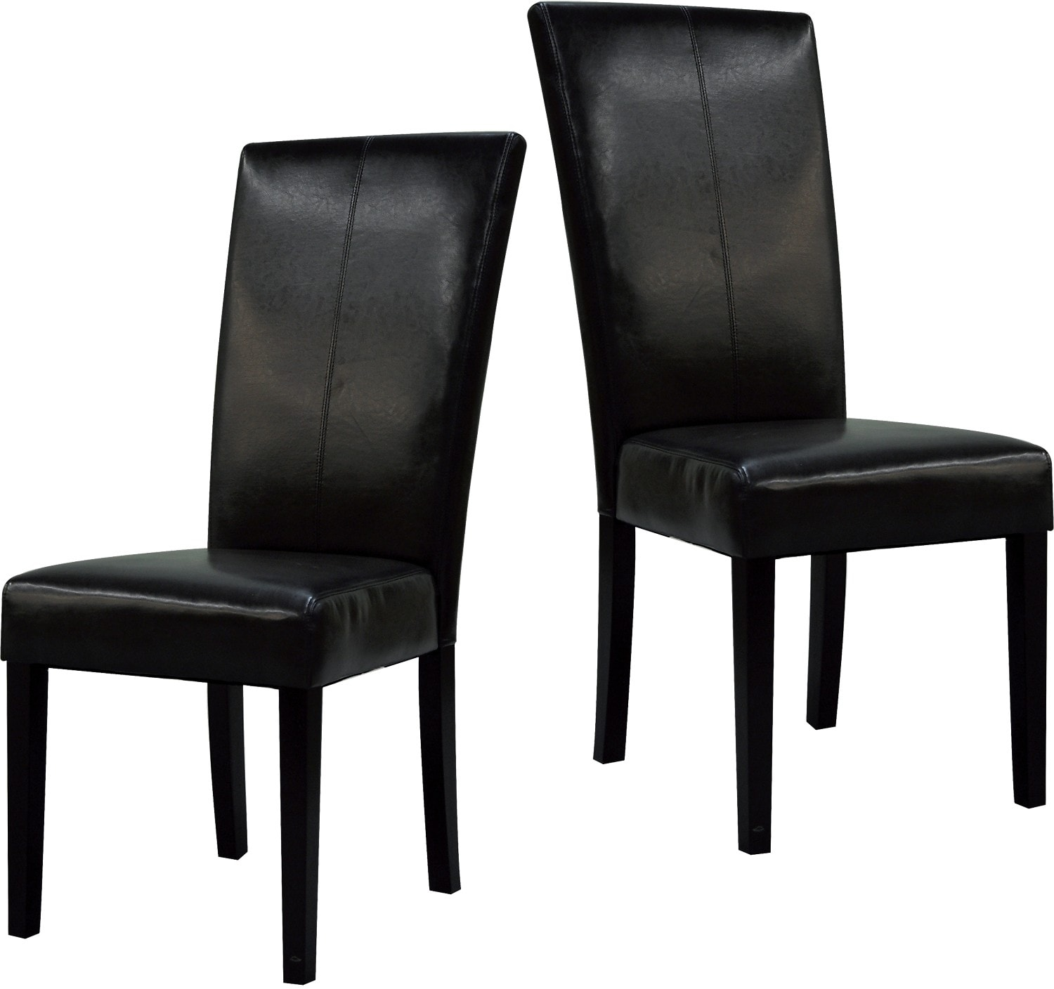 Dining Room Furniture - Black Dining Chair Package