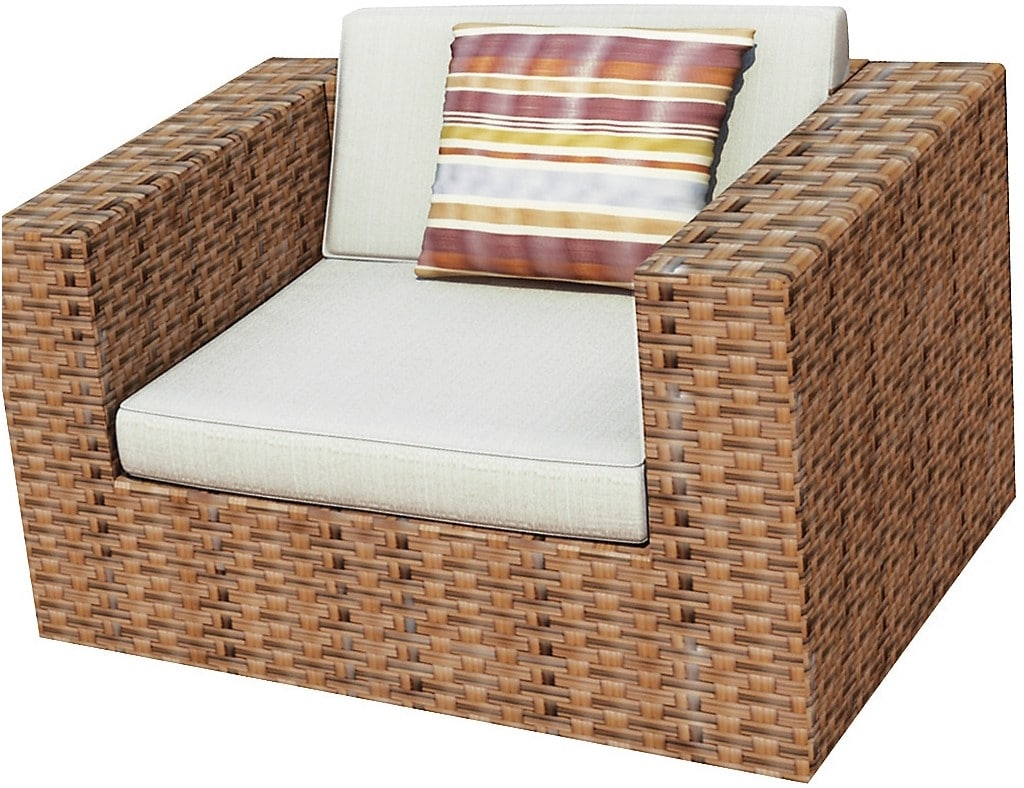 Outdoor Furniture - Parkview Patio Chair - Brown