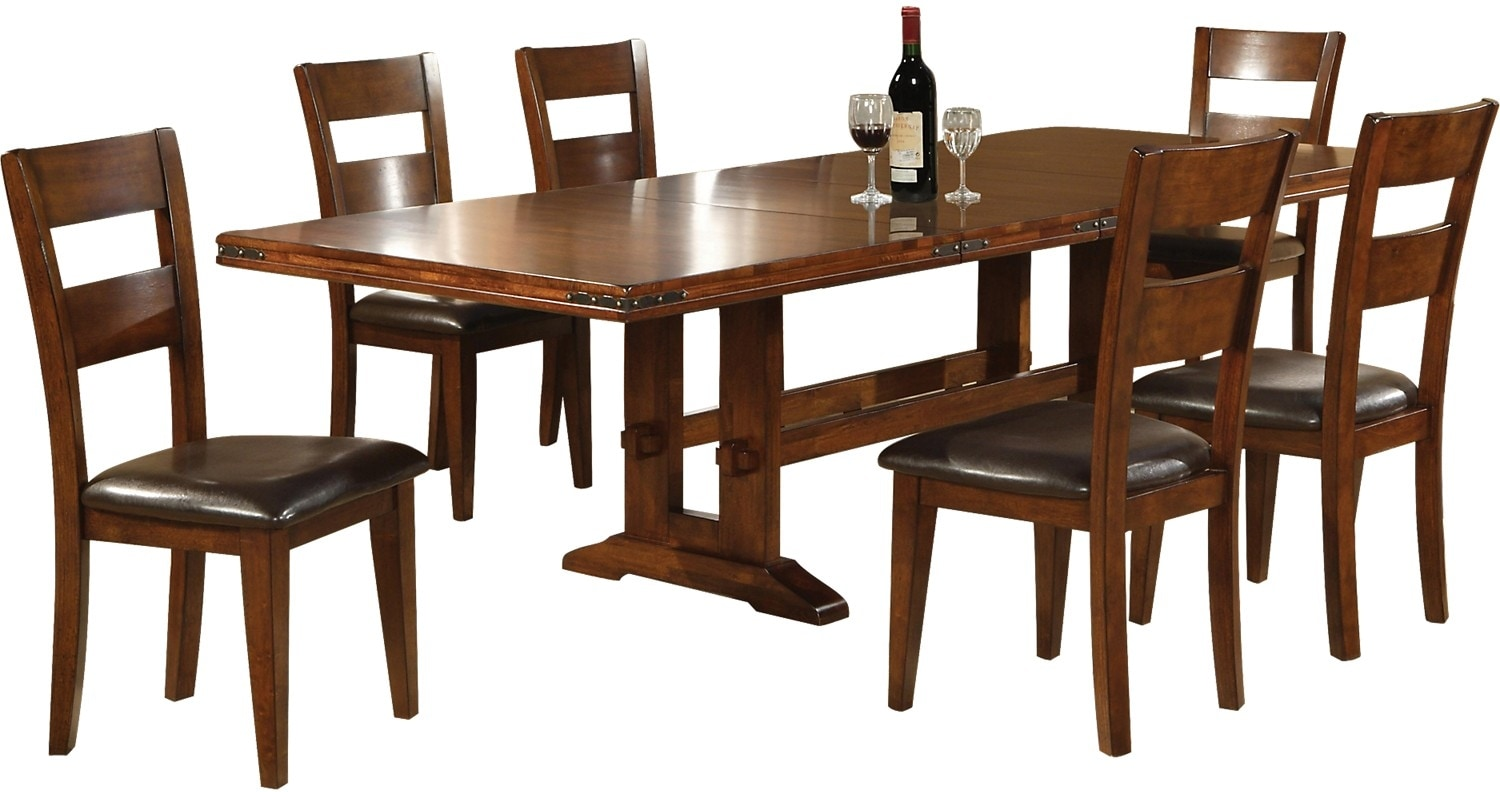 Dining Room Furniture - Magnus 7 Piece Dining Package