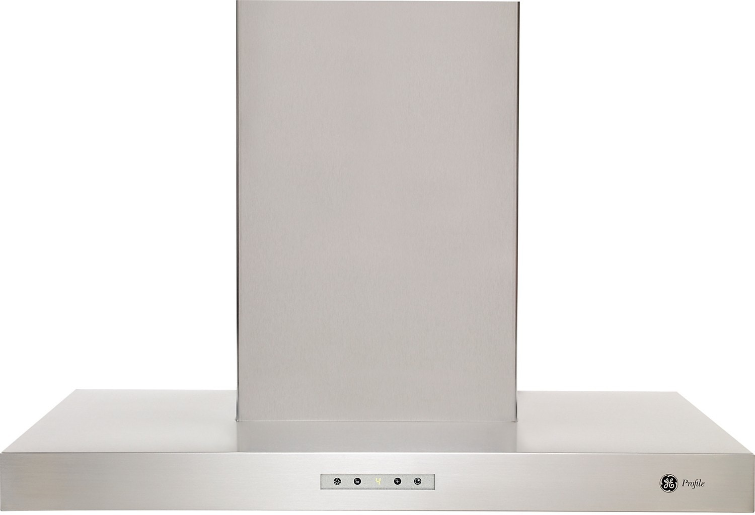 "Cooking Products - GE Profile 30"" Chimney Style Range Hood - Stainless Steel"
