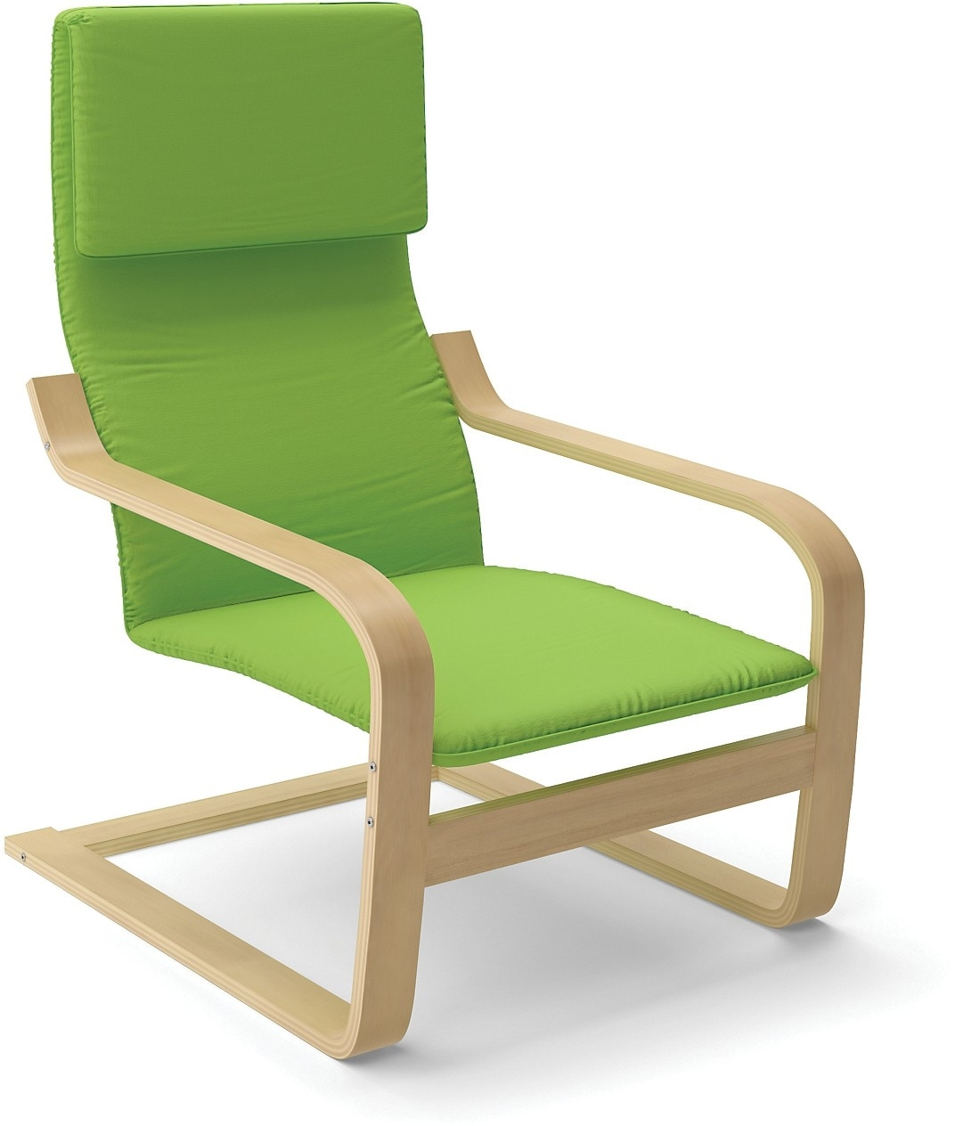 Vonn Contemporary Armchair – Green