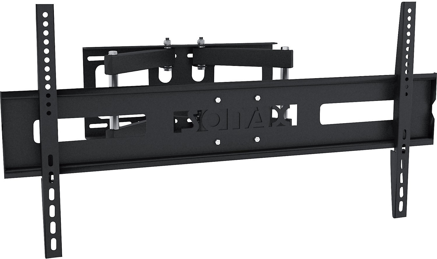 "Sonax Adjustable 37"" - 70"" Full Motion Flat Panel TV Wall Mount – Black"
