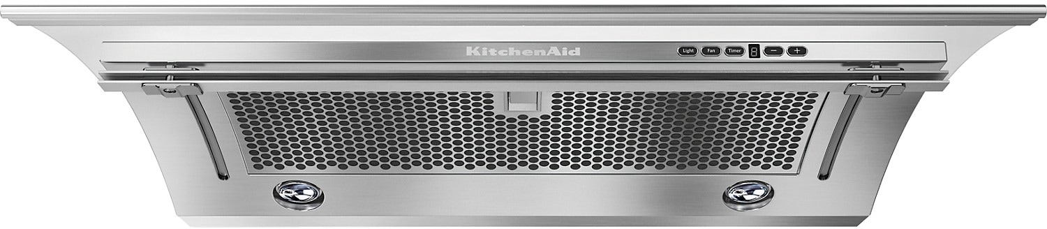 "KitchenAid 36"" Slide-Out Ventilation Hood - Stainless Steel"