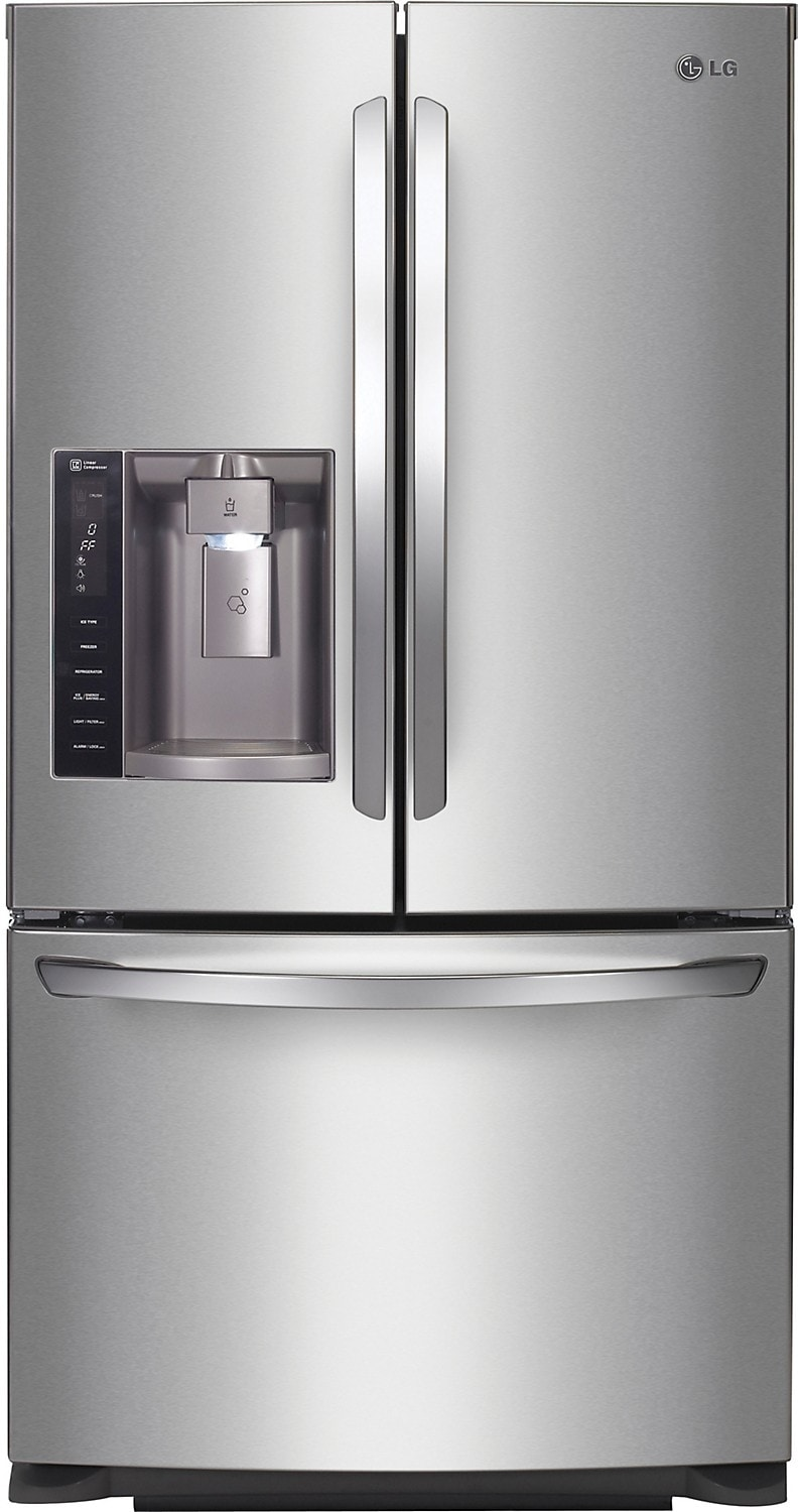 Refrigerators and Freezers - LG 27.6 Cu. Ft. French-Door Refrigerator – LFX28968ST