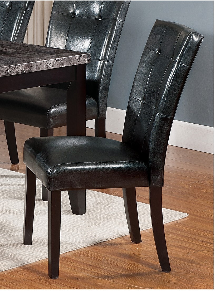 Dining Room Furniture - Tahoe Side Dining Chair - Black