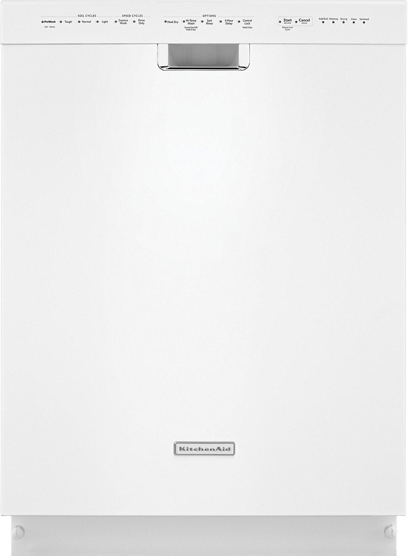 "KitchenAid 24"" Built-In Dishwasher - White"