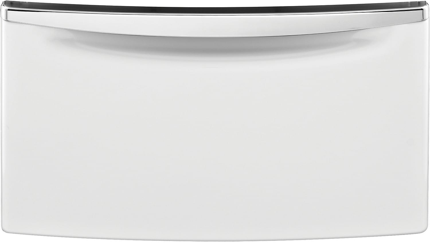 "Whirlpool 15.5"" H Laundry Pedestal w/Storage Drawer - White"