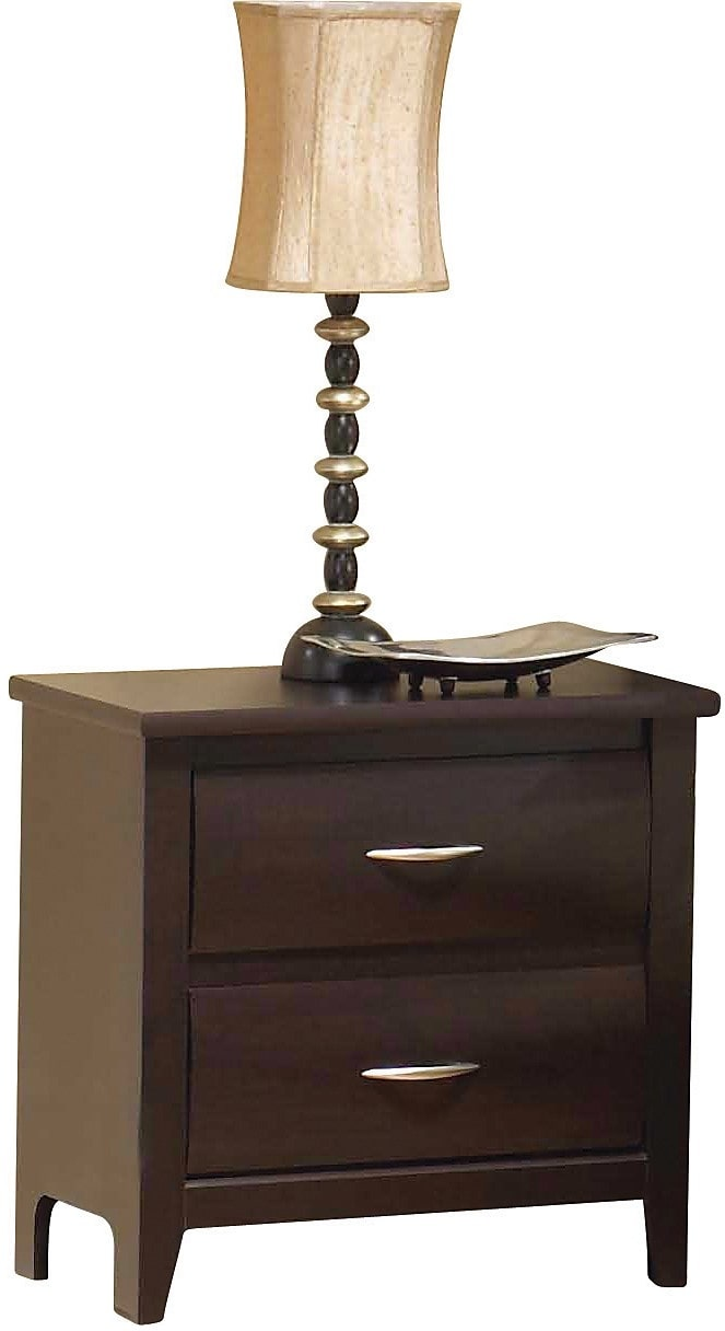 Bedroom Furniture - Mocha Night Table