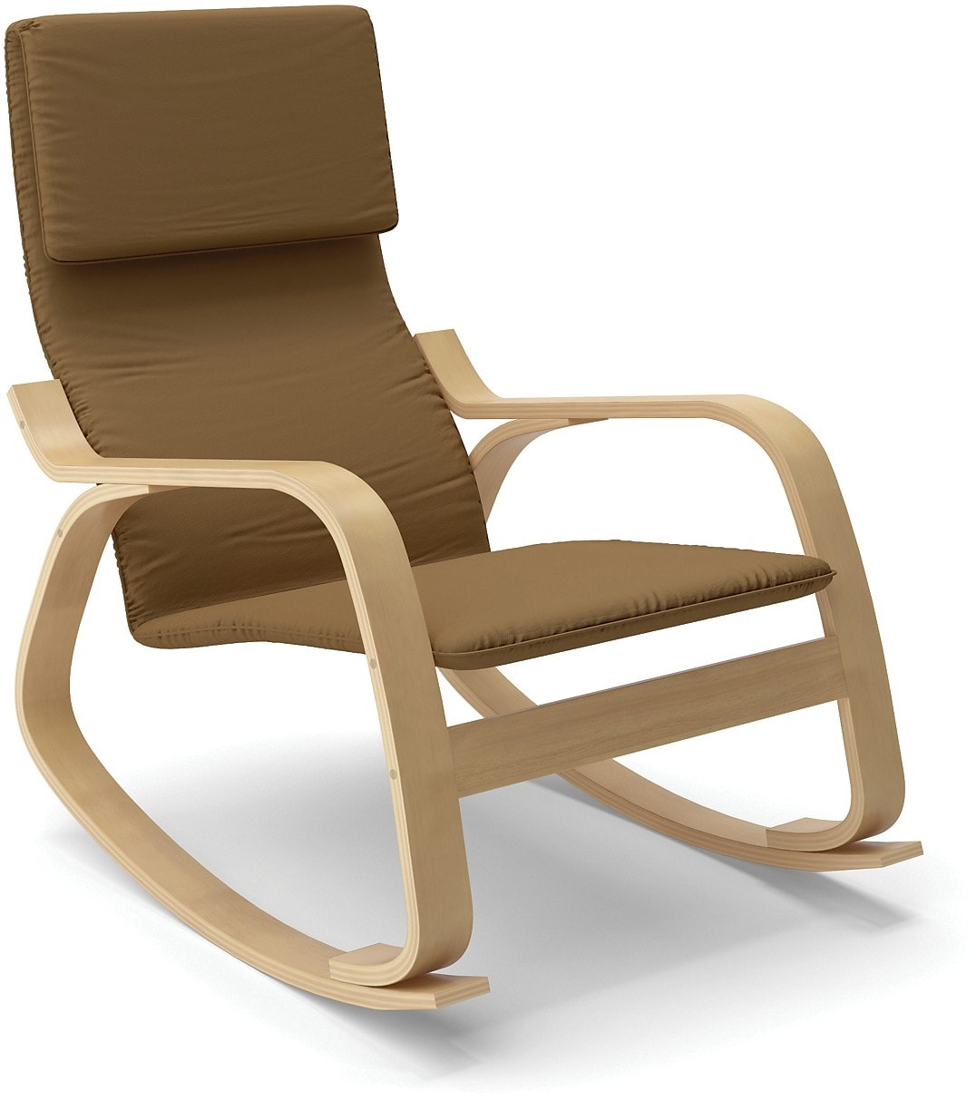 Volo Contemporary Rocking Chair – Brown