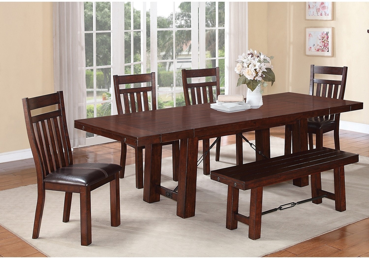 Dining Room Furniture - Sonoma 6-Piece Dining Package