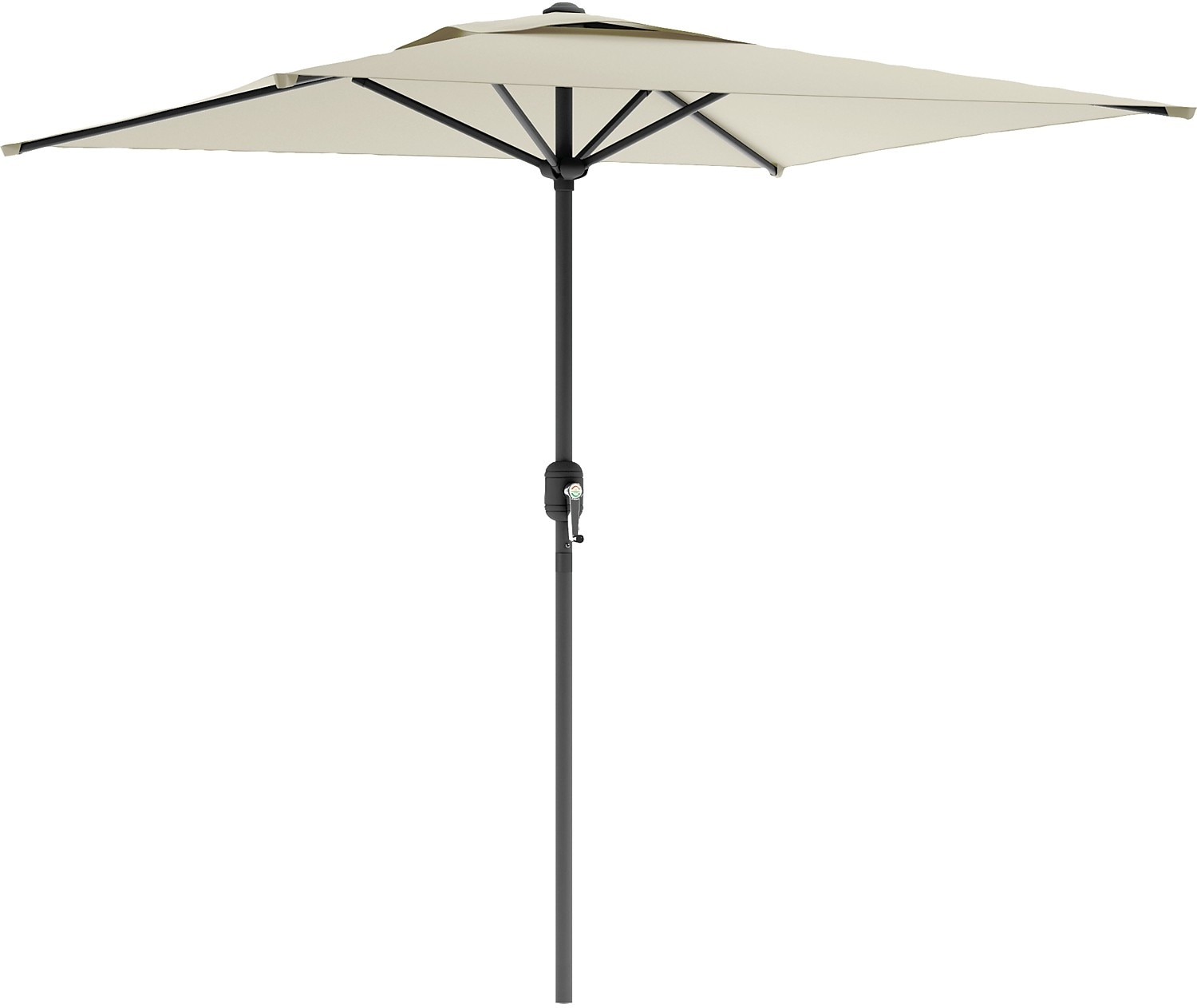 Square Patio Umbrella – Warm White