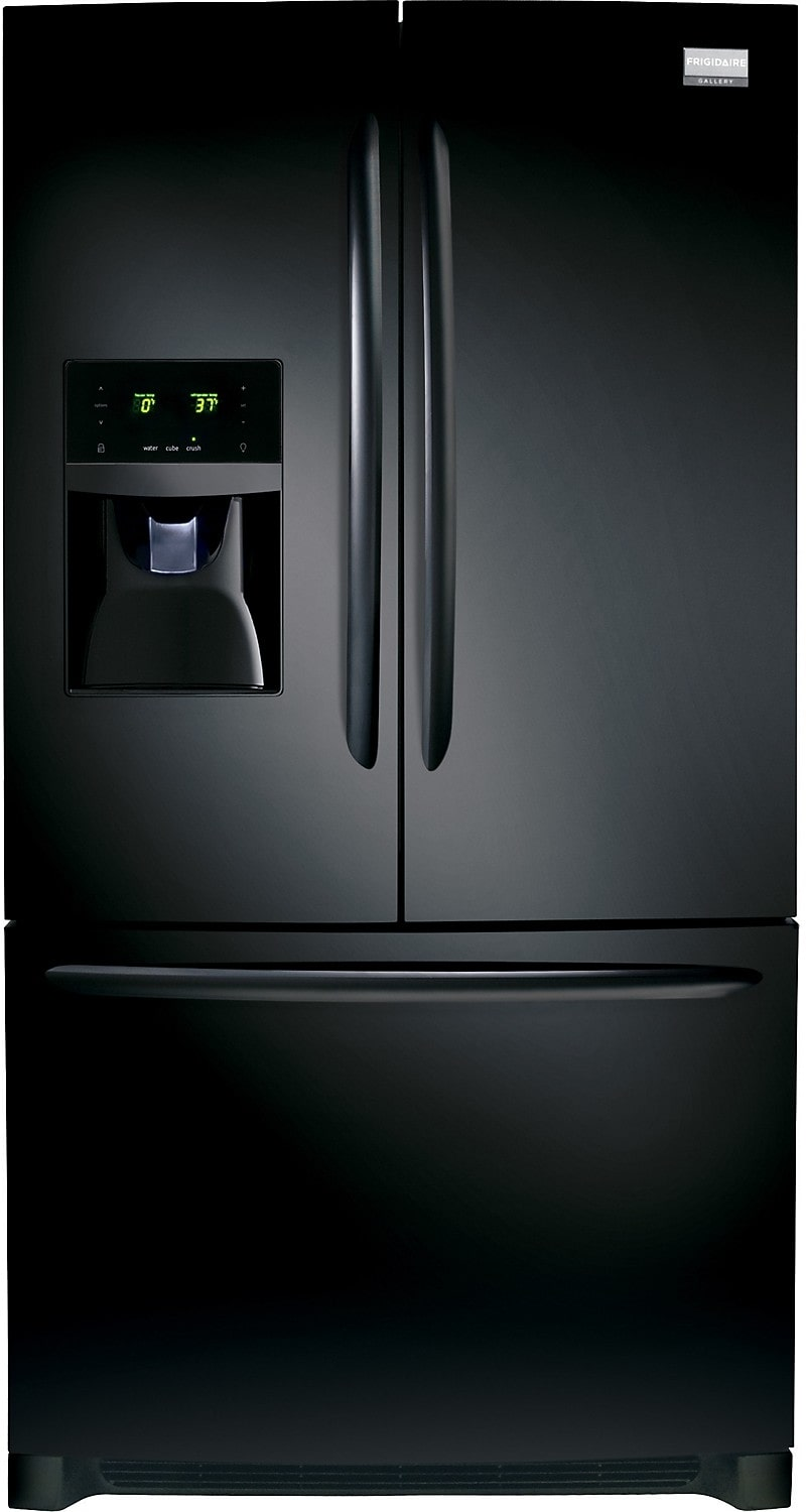 Frigidaire Gallery 28 Cu. Ft. French Door Refrigerator - Black