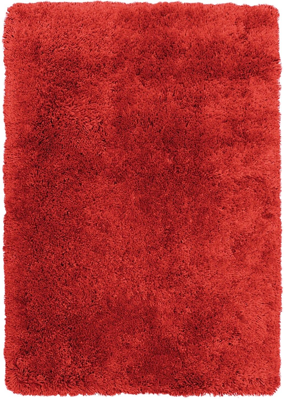Rugs - Red Fashion Shag Area Rug – 4' x 5'
