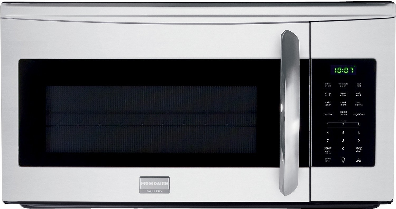 Cooking Products - Frigidaire 1.7 Cu. Ft. Over-the-Range Microwave – Stainless Steel