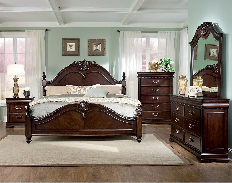 Bedroom Furniture - Westchester 5-Piece King Bedroom Set