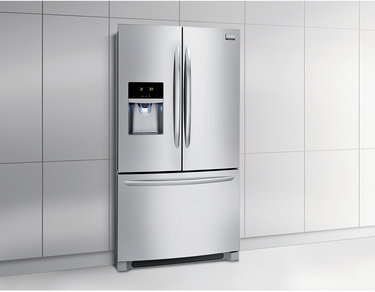 Frigidaire 23 Cu Ft Counter Depth French Door Refrigerator Stainless Steel The Brick