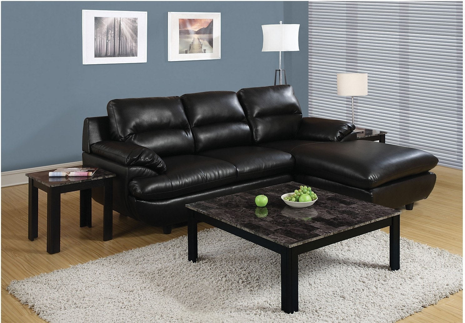 Malta 3Piece Coffee and Two End Tables Package The Brick