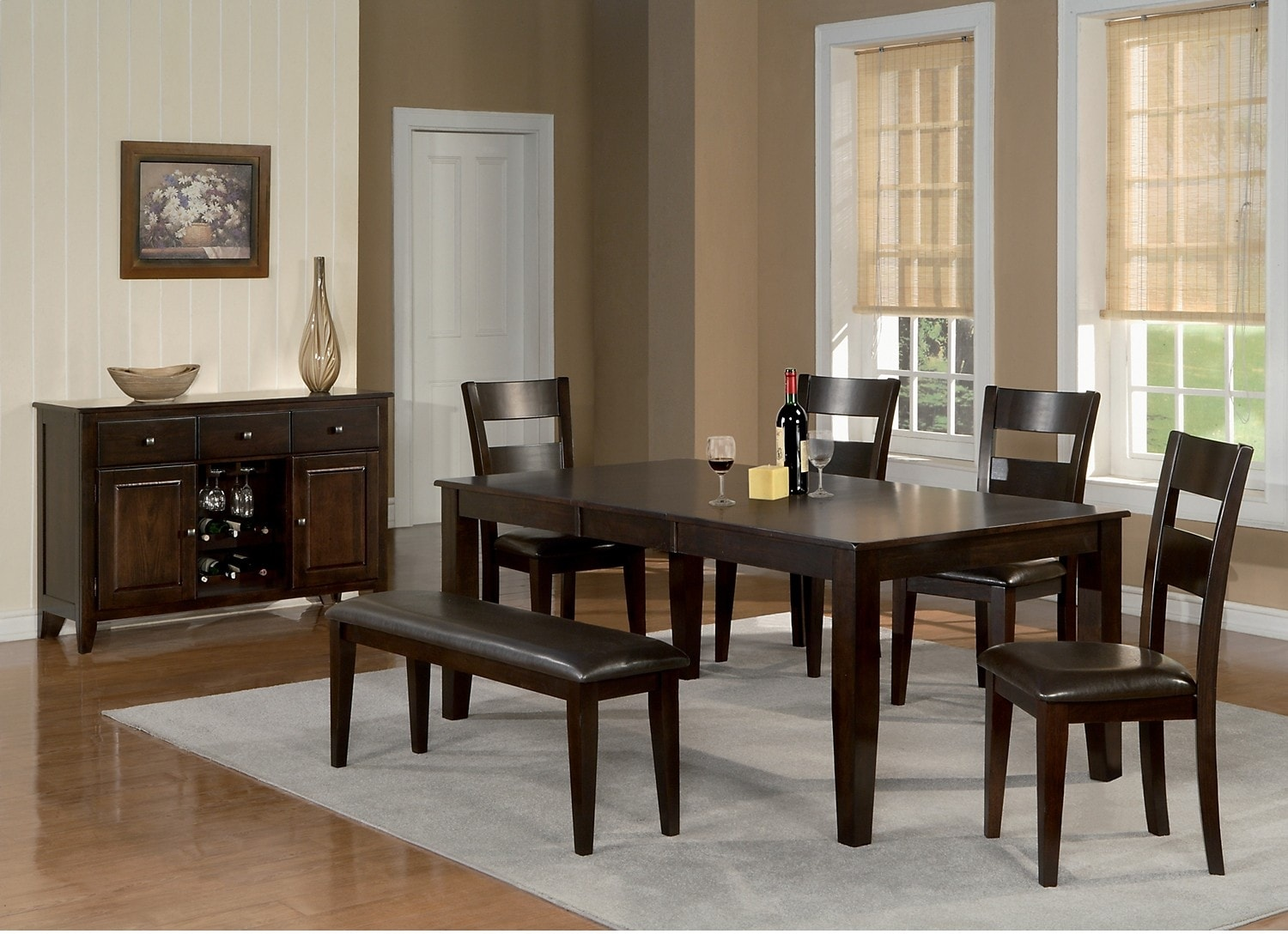Dining Room Furniture - Dakota 7 Piece Casual Dining Package