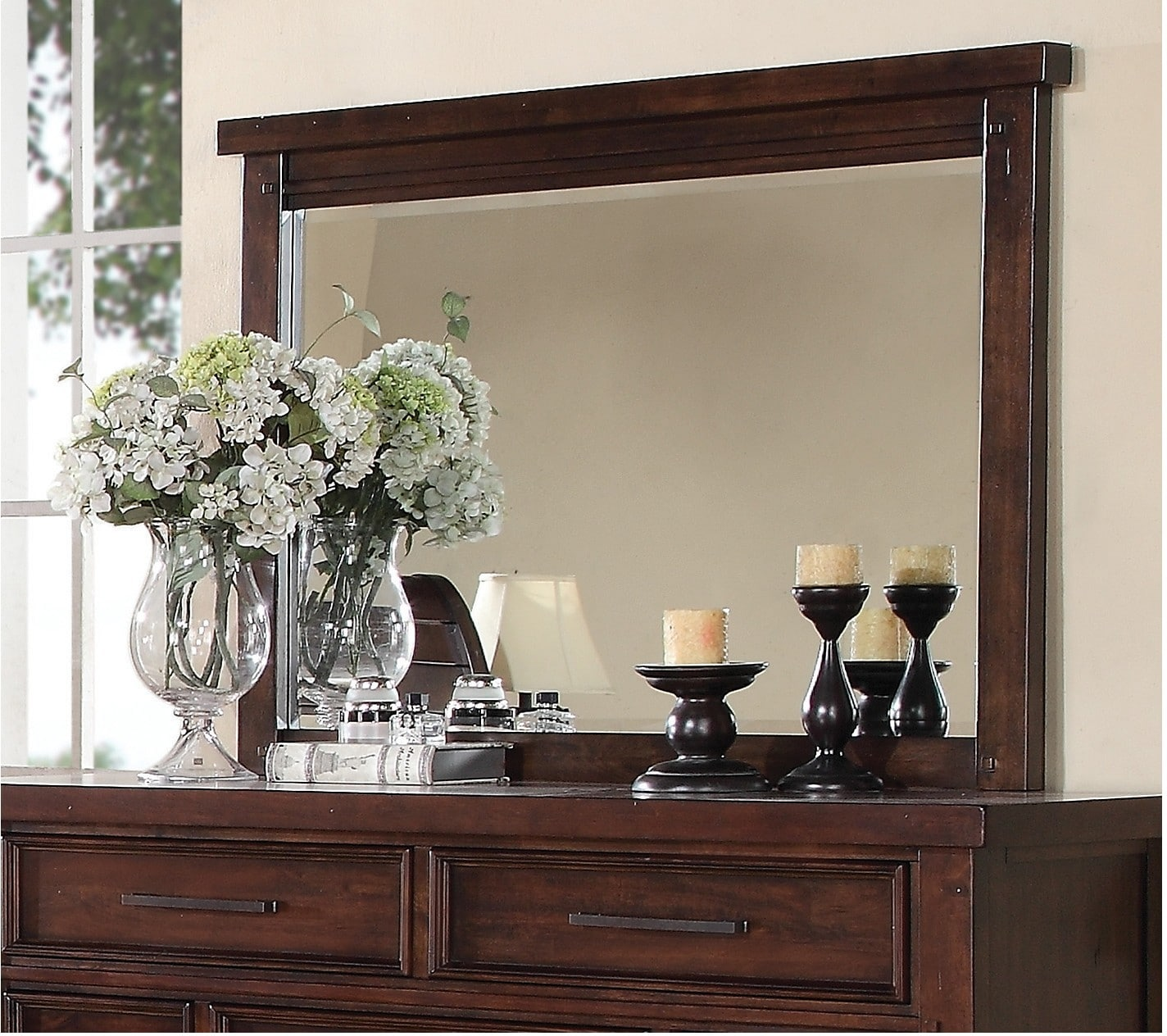 Sonoma Mirror - Dark Brown