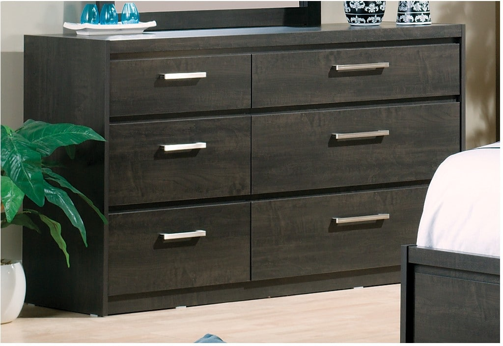 Bedroom Furniture - Tyler 6-Drawer Dresser