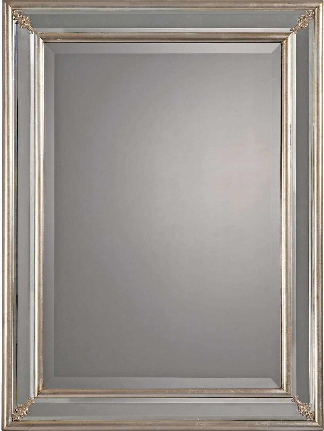Williamsburg Silver Leaf Mirror