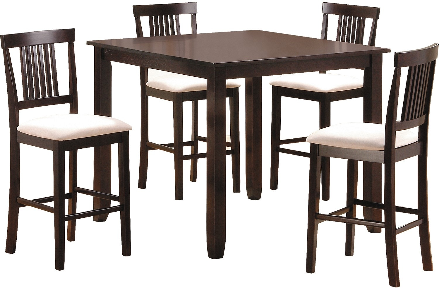 The Brick Dining Room Furniture Dining Room Furniture Nicole 5 Piece Counter Height Dining Package