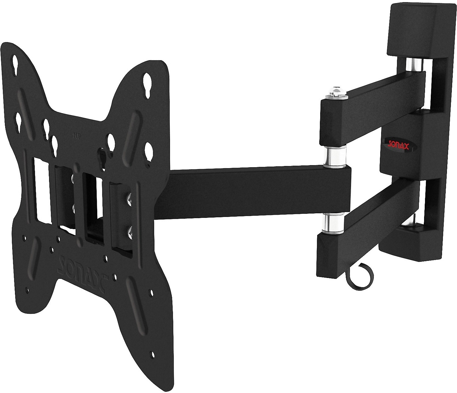 "Sonax Adjustable 14"" - 40"" Full Motion Flat Panel TV Wall Mount – Black"