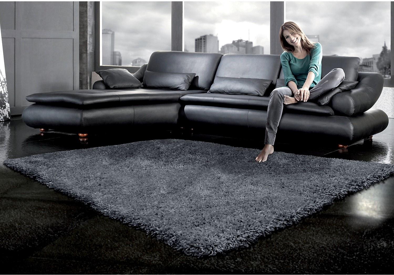 Rugs - Loft Grey Shag Area Rug – 5' x 8'