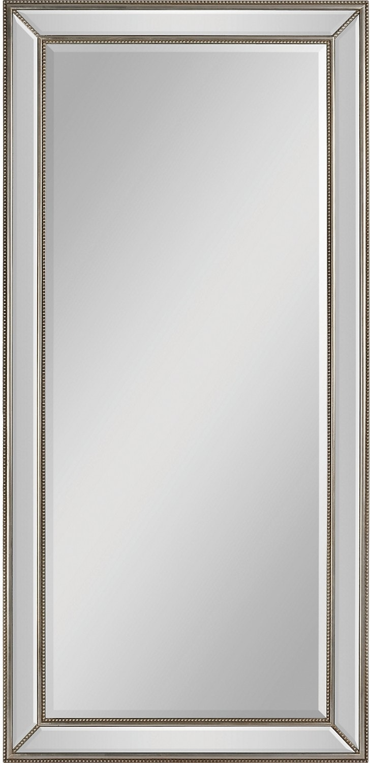 Home Accessories - Aspen Silver Mirror