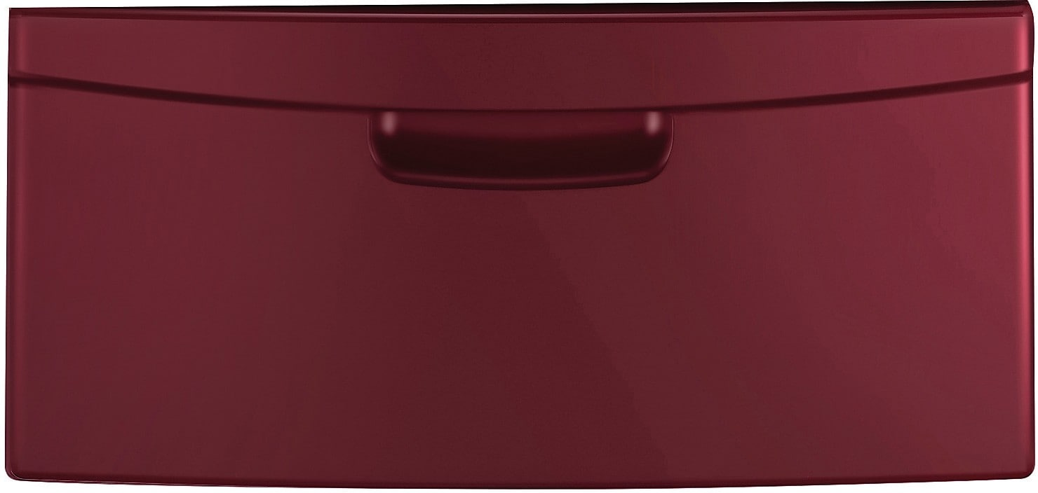"Appliance Accessories - Samsung 14"" Laundry Pedestal with Storage Drawer – Wine"