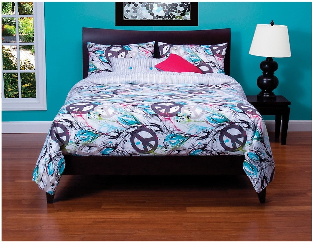 Accent and Occasional Furniture - Dream Catcher 4 Piece Full Duvet Cover Set