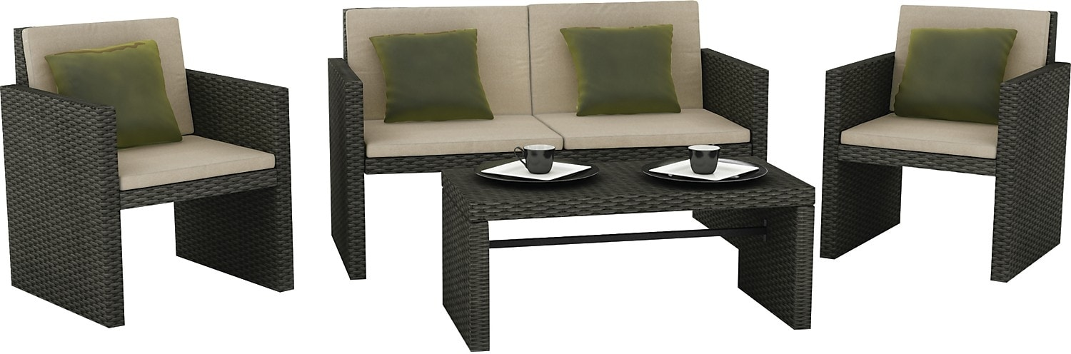 Creekside 4 Piece Patio Set