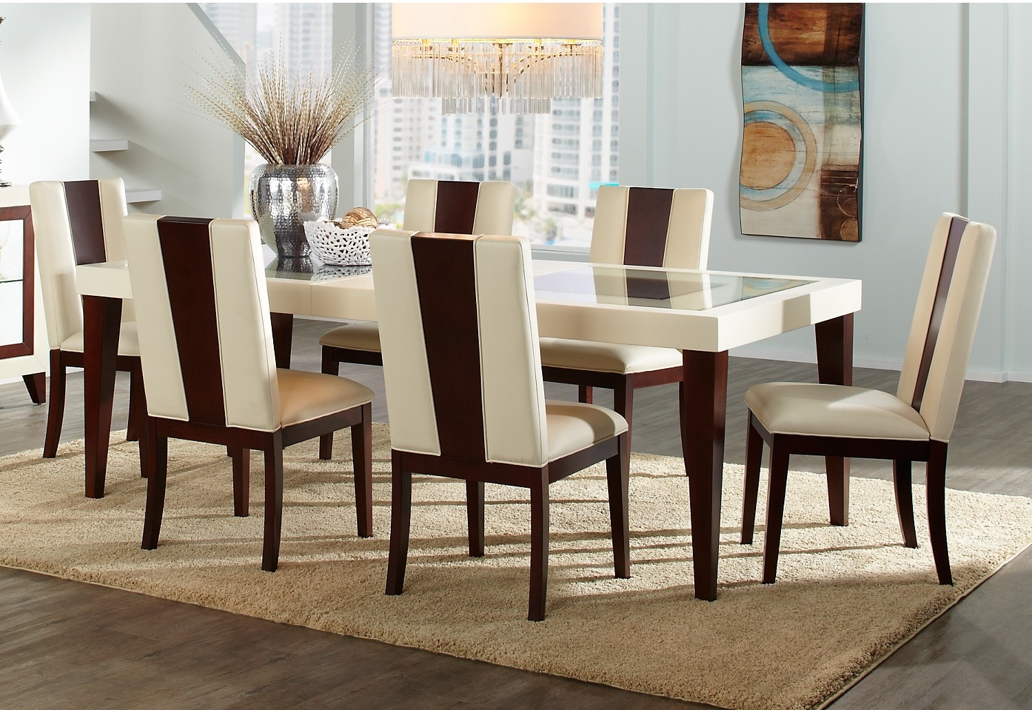 Dining Room Furniture - Zeno 7-Piece Dining Package