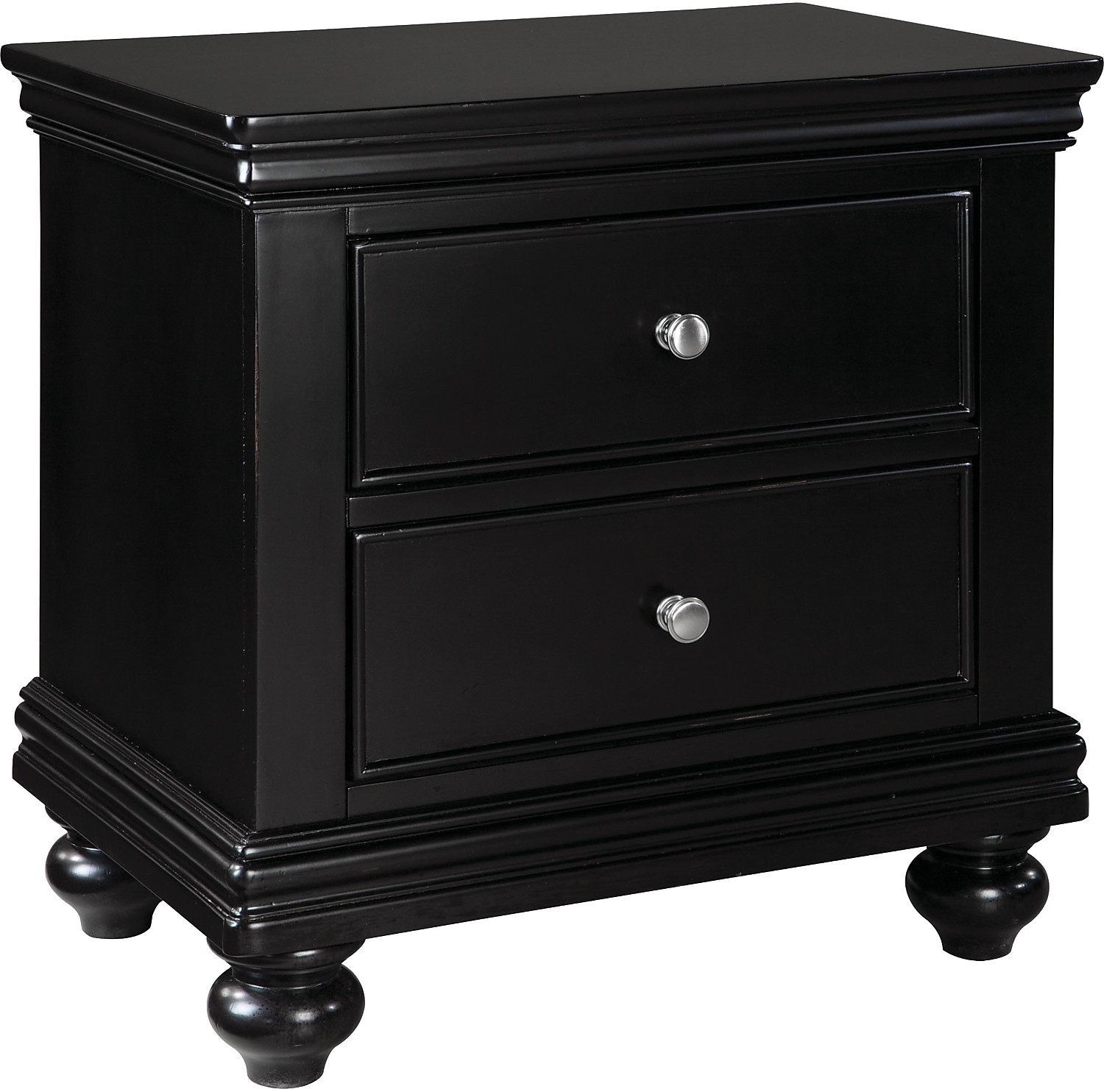 black dresser and nightstand set bridgeport nightstand black the brick 18344