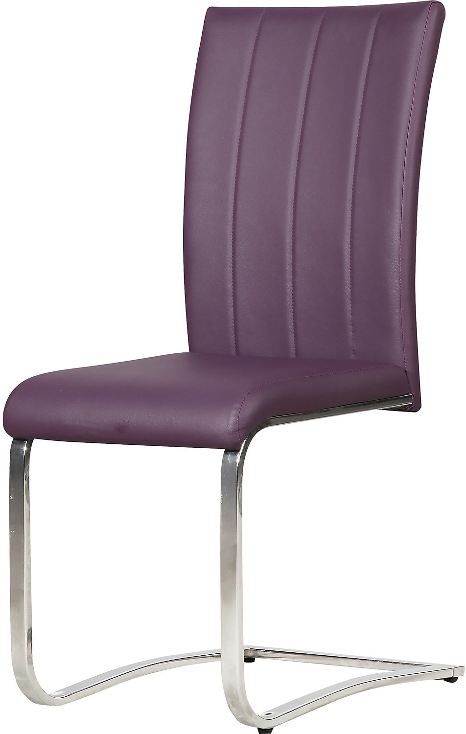 Tori Side Chair – Purple