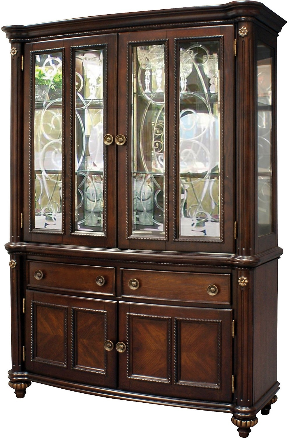 dining room furniture buffet   Newcastle Buffet and Hutch   The Brick