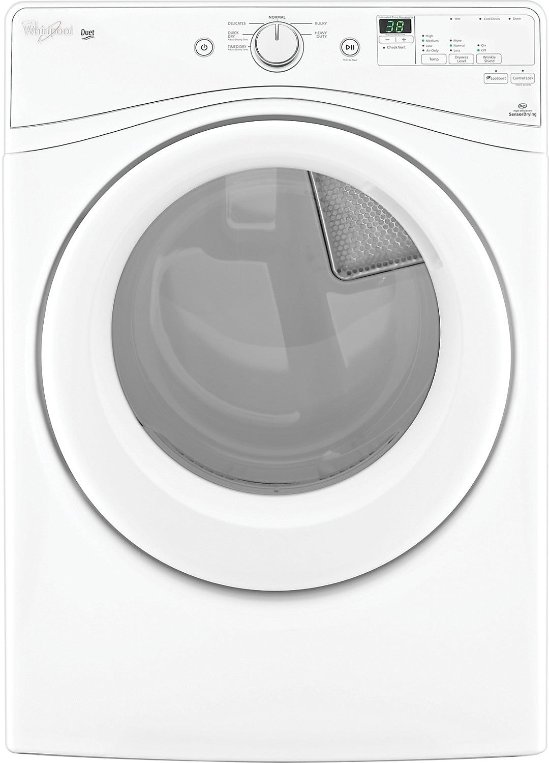 Washers and Dryers - Whirlpool® Duet® 7.4 Cu. Ft. Electric Dryer  - White
