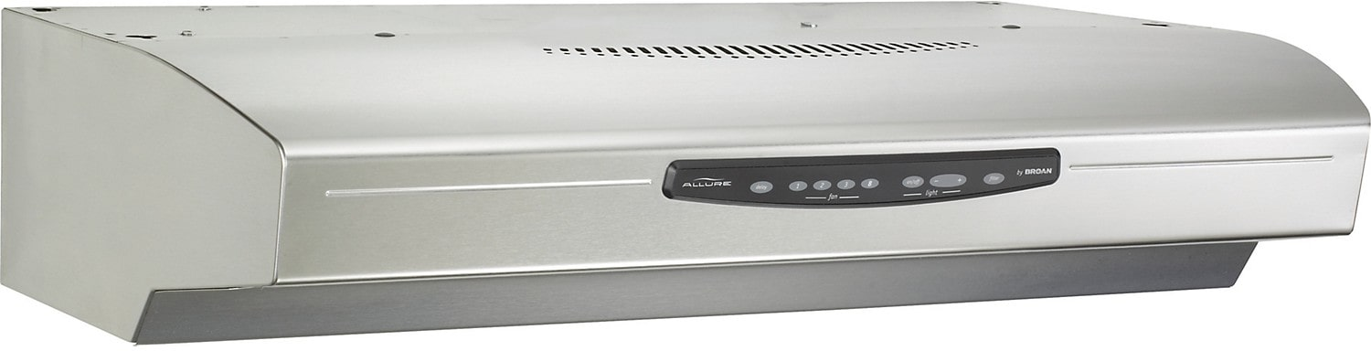 Appliance Accessories - NuTone Allure® III 430 CFM Range Hood - Stainless
