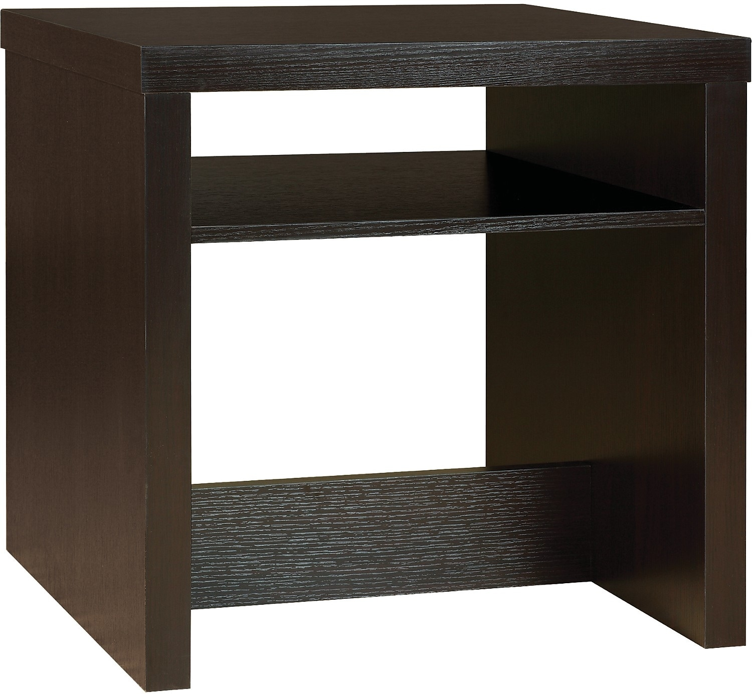 Glendale End Table - Espresso