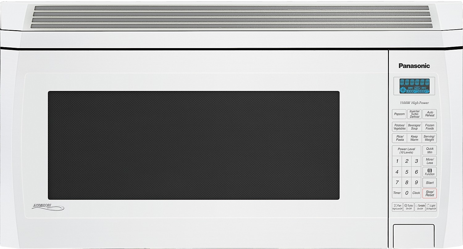 Cooking Products - Panasonic 2 Cu. Ft. OTR Microwave Oven - White