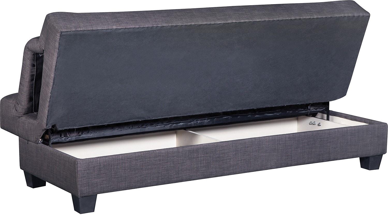 Vogue futon charcoal the brick - The basics about futons ...