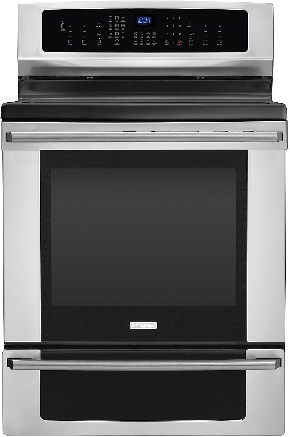 "Electrolux 30"" Electric Range with Induction Cooktop - Stainless Steel"