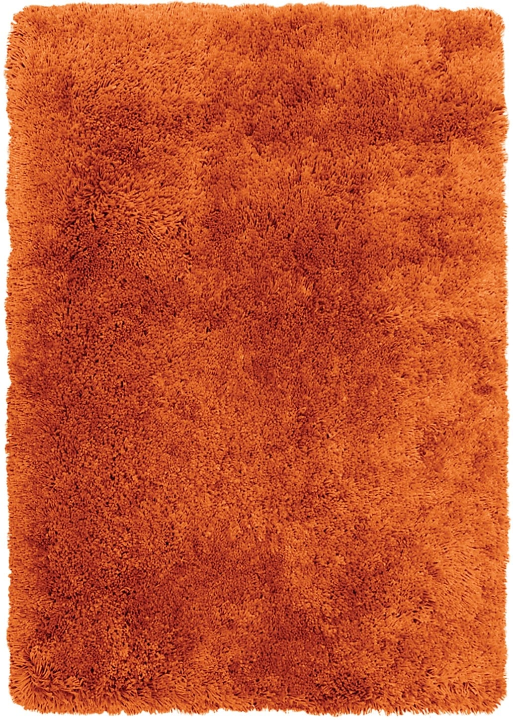 Orange Fashion Shag Area Rug – 4' x 5'