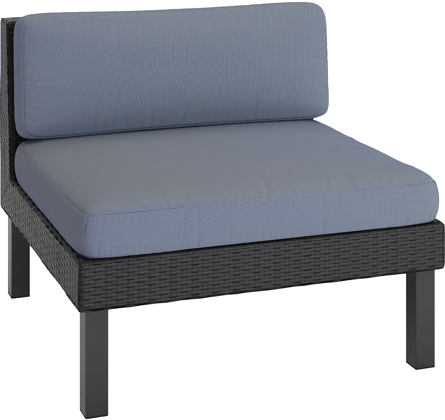 Outdoor Furniture - Oakland Patio Middle Seat