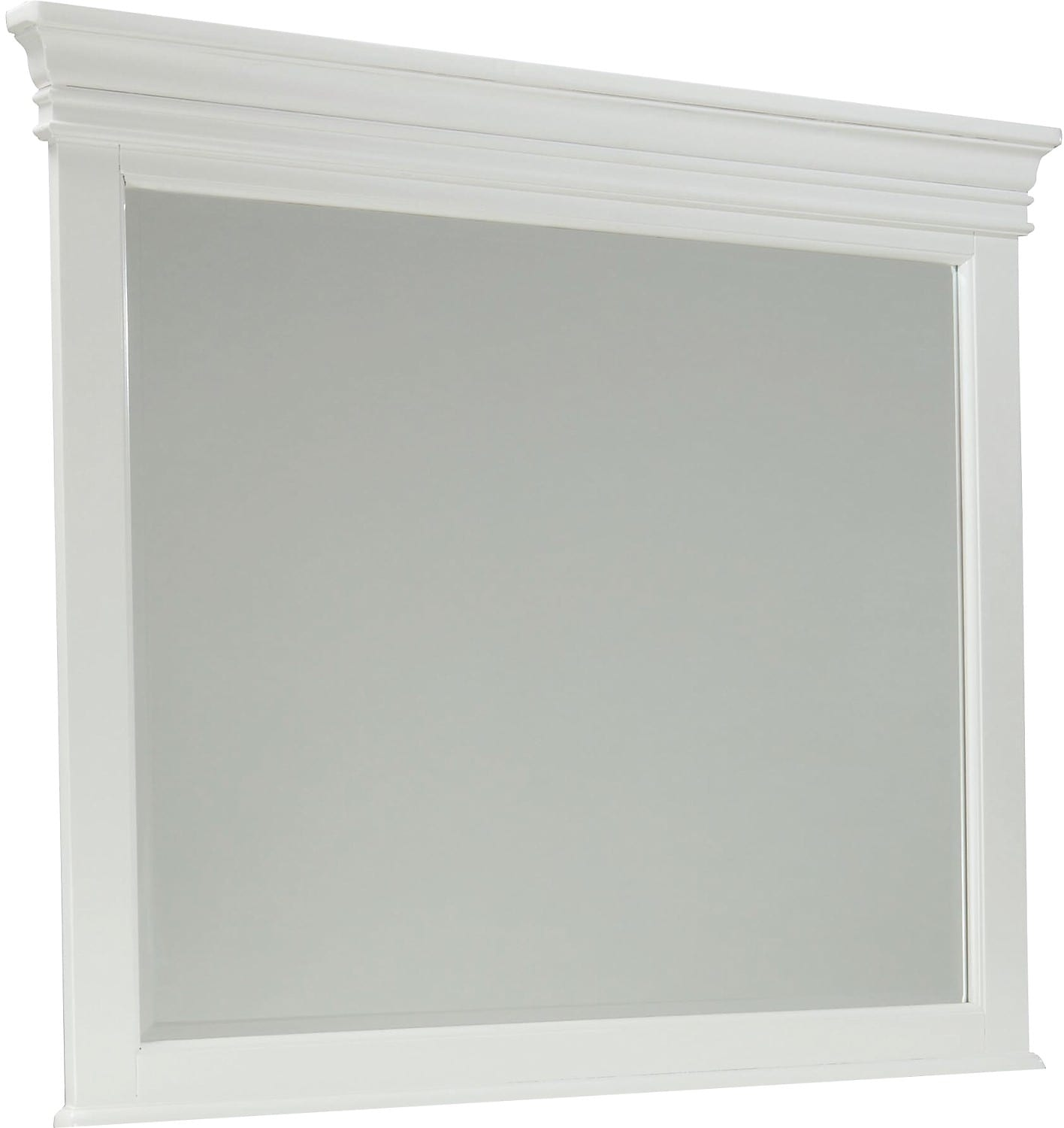 Bridgeport Mirror – White