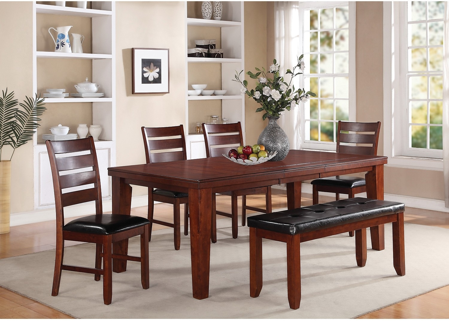 the brick dining room | Chloe 6-Piece Dining Package | The Brick