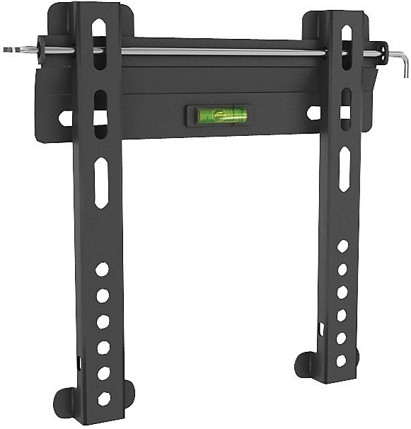 "Sonax Adjustable 18"" - 32"" Fixed Low-Profile TV Wall Mount – Black"